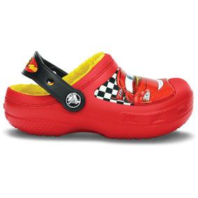 Zapato Crocs Niño Mcqueen Lined Clog Rojo