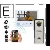 Video Portero/intercomunicador Wifi Tecnología 2017 Cel/hd