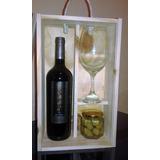 Estuche Con Vino Reserva + Copon Ideal Regalo