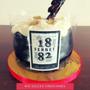 Torta Decorada Cumpleaños - Fernet 1882 Con Coca