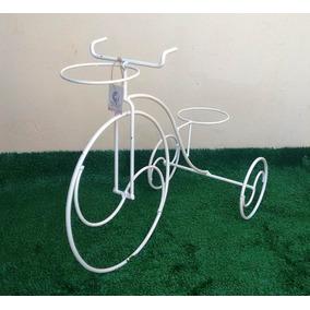 Suporte Para Vaso, Jardim De Inverno Tipo Bicicleta Luxo Lin