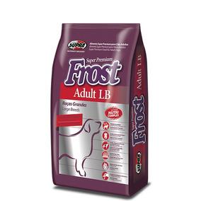 Ração Super Premium Frost Adulto Lb 22,5 Kg Para Criadores