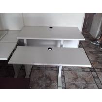 Mesa Aceco Com Tampos Regulaveis Para Computador Em Aço