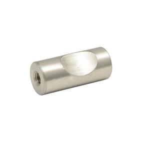 Botón O Perilla Moderno Tipo 03 Níquel Rayado Lock