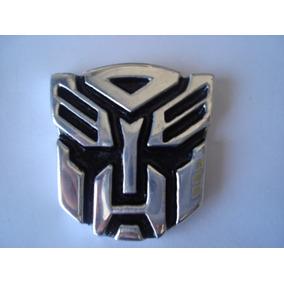 Transformers 5 Autobots 5 Decepticons 10 Emblema Letrero