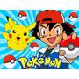 Kit Imprimible Pokemon Diseña Tarjetas Cumpleanos Invitac #1
