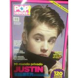 Justin Bieber - Especial De Revista Pop Heroes - Con Poster