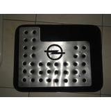 Posapies Logo Opel Aluminio Troquelado Seis Piezas
