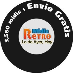 Midis De Antaño Solo Lo Mejor Y Lo Mas Viejito De 80s