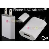 Cargador Adaptador Usb Para Apple Iphone 4g 4s