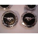 Centro De Rin Metalico Caballo Solo Mustang Emblema Toma