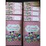 20 Libros Colorear Personalizado Souvenir Minnie Mickey Bebe