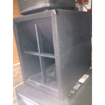 2 Cajas Turbo Sound Con Bajos Eminence Kilomax
