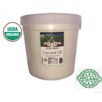 Aceite Coco Comestible Orgánico Exvirgen Prensado/ Frío 4 Lt