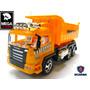 Camion Volcador Scania Radio Control Remoto Grande C/pilas