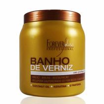 Creme Cabelo Banho Verniz 1 Kg Forever Liss + Frete Grátis