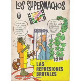 Comic De Satira Politica De Los Años 70s Los Supermachos Hlw