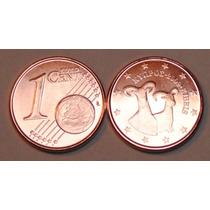 Chipre Moneda De 1 Cents Euro Año 2009 Sin Circular Fauna