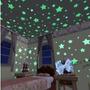 Estrelas Fluorescentes Parede E Teto Adesivo Luminoso 100pcs