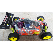 Automodelo Combustão Himoto Syclone Buggy 1/10 4x4 Kit Start