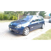 Renault Clio 3p Sport 5vel Piel Cd 2002 Impecable 100%