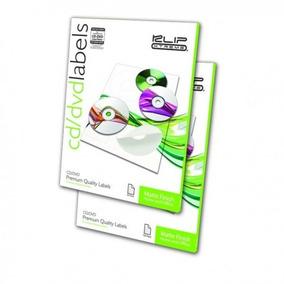 Etiquetas Para Cd/dvd 50 Etiquetas Klip Xtreme Autoadhesiva