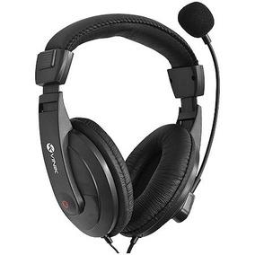 Fone Headset Go Play Fm35 Preto Com Microfone - Vinik