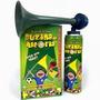 Buzina A Gás Corneta Super Alta Com 6 Unidades