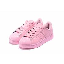 adidas rosas chica