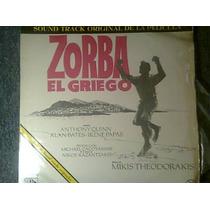 Disco Acetato De Zorba El Griego
