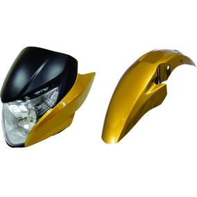 Frontal+farol+laterais+paralama Titan 150 Amarelo 2011