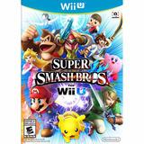 Super Smash Bros. For Wii U Original Con Caja En Español
