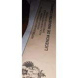 Vendo Registro Para Bebidas Alcoholicas En El Municipio Vale