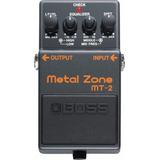 Boss Mt2 Pedal De Efecto Metal Zone (distorsión) Env/gra