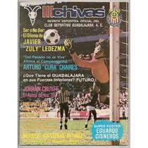 Chivas Guadalajara Futbol Zuly Ledezma Revista Oficial 1984