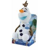 Boneco De Pelúcia Olaf Ani-mei Frozen Luz Som Fala Dtc 3630