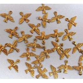 Medalhinhas Divininho Douradas Lembrancinha Atacado 500 Pç