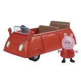 Peppa Pig Vehículo Casa Rodante Auto Bombero Cerdita Pepa