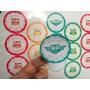 90 Stickers Cortados Para Candy Bar O Mesa Dulce
