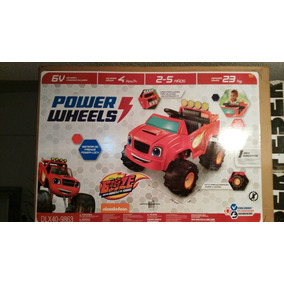 Montable Eléctrico Blaze And The Monster Machines Power Whee
