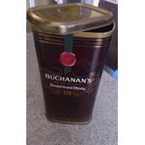 Caja De Botella Buchanans 18 Años - Solo Caja Metalica