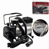 Mini Compressor Ar Automotivo Moto Portatil 12v Profissional