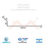 Babeta Techo - Zingueria Super Chapa. Envios. X Mt