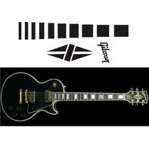 Inlay Stickers Guitarra Elèctrica Gibson Les Paul Custom B.b