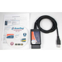 Escaner Automotriz Universal Usb Elm327 Obd2 Ultima Version
