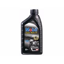 Óleo Lubrificante Motor Mobil Moto Super 4t 20w-50
