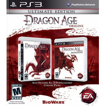 Dragon Age Origins Ultima Edição Play 3 Ps3 Novo Original