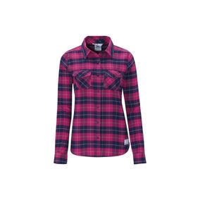 Camisa Dama Salomon Mountain Flannel Motociclo