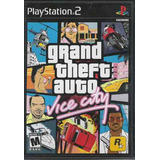 Remate Juegos Ps2 Grand Thef Auto Vice City Play Station Au1