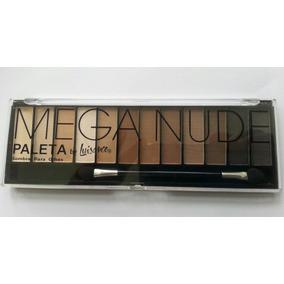 Paleta De Sombra Matte Mega Nude Luisance L689